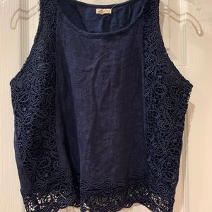 Hollister sleeveless top. New with tags